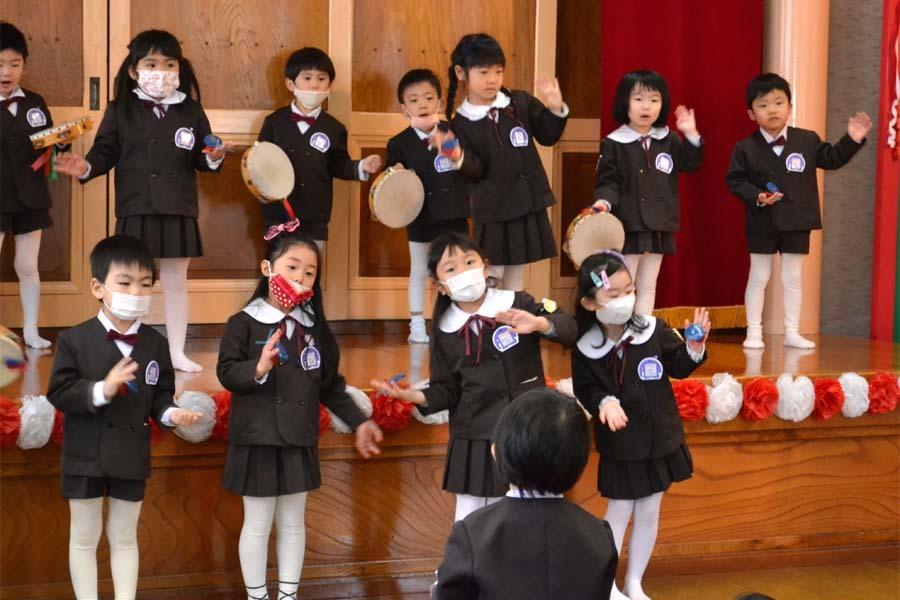 第一幼稚園 新入園児を迎える会_d0353789_14315787.jpg