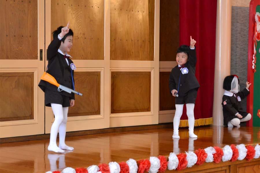 第一幼稚園 新入園児を迎える会_d0353789_14324902.jpg