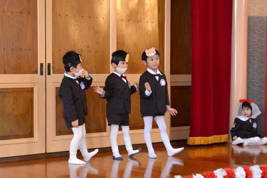 第一幼稚園 新入園児を迎える会_d0353789_14330130.jpg