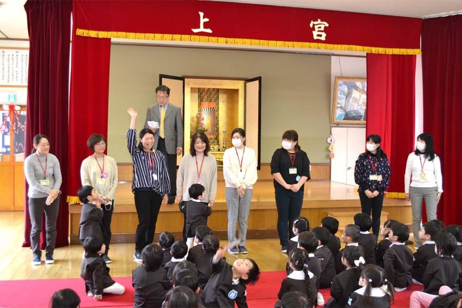 第二幼稚園 新入園児を迎える会   _d0353789_14471582.jpg