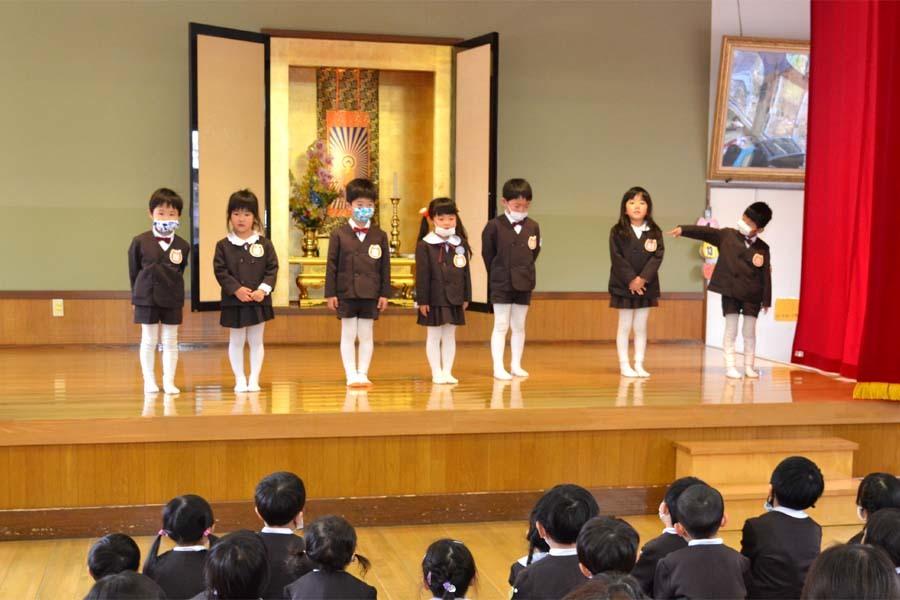 第二幼稚園 新入園児を迎える会   _d0353789_14472312.jpg