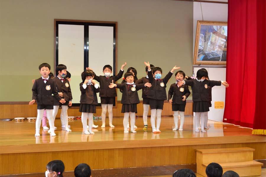 第二幼稚園 新入園児を迎える会   _d0353789_14473193.jpg
