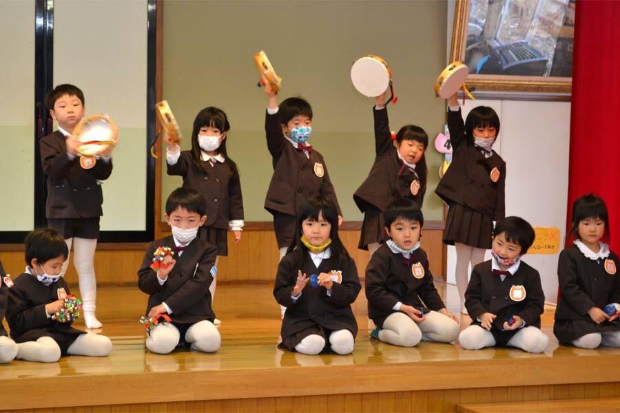 第二幼稚園 新入園児を迎える会   _d0353789_14475813.jpg
