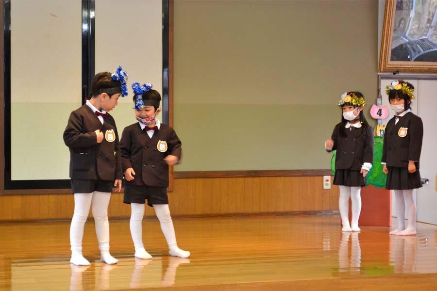 第二幼稚園 新入園児を迎える会   _d0353789_14500392.jpg