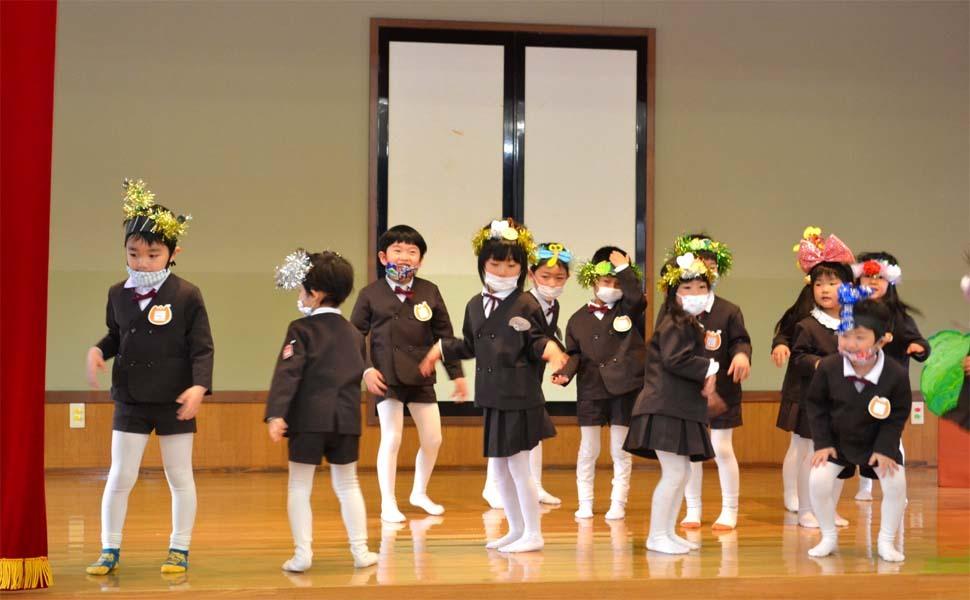 第二幼稚園 新入園児を迎える会   _d0353789_14501894.jpg