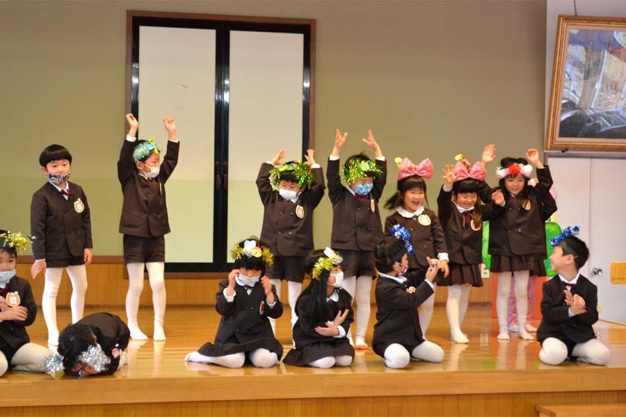 第二幼稚園 新入園児を迎える会   _d0353789_14503037.jpg