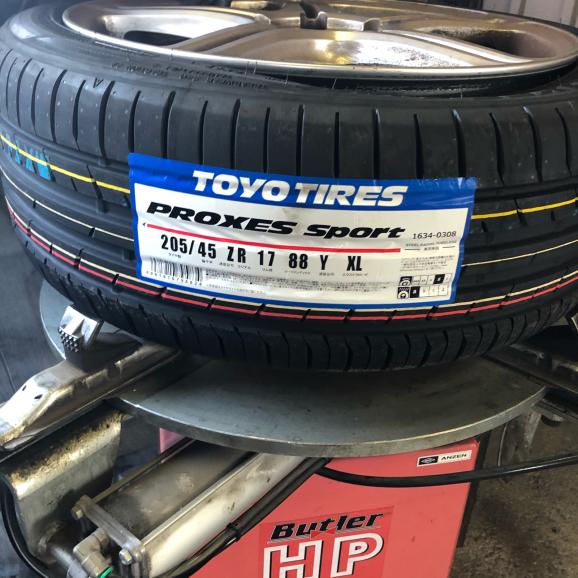 ルーテシア4 ph1 RS シャシーカップ タイヤ交換 63586km_f0032891_15580182.jpg