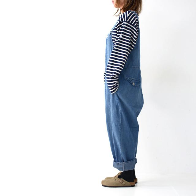 ordinary fits [オーディナリー フィッツ] DUKE OVERALL [OF-O013] デュークオーバーオール オールインワン LADY\'S_f0051306_16311773.jpg