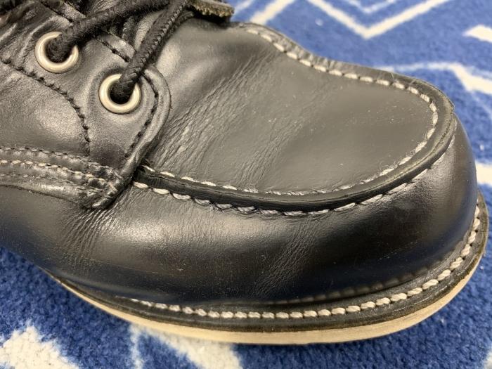 おうちで靴磨き「汚れてしまった白ステッチを白に戻す裏ワザ紹介」_b0226322_13330818.jpg