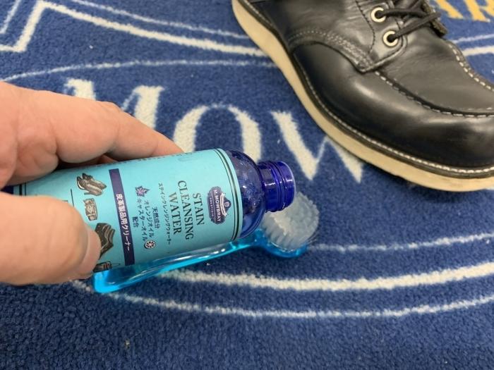 おうちで靴磨き「汚れてしまった白ステッチを白に戻す裏ワザ紹介」_b0226322_13561079.jpg