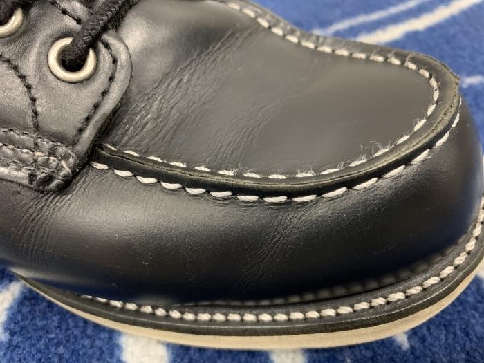 おうちで靴磨き「汚れてしまった白ステッチを白に戻す裏ワザ紹介」_b0226322_14015358.jpg