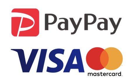 クレジットカード・PayPayがご利用頂けるようになりました。_f0246424_08485813.jpg