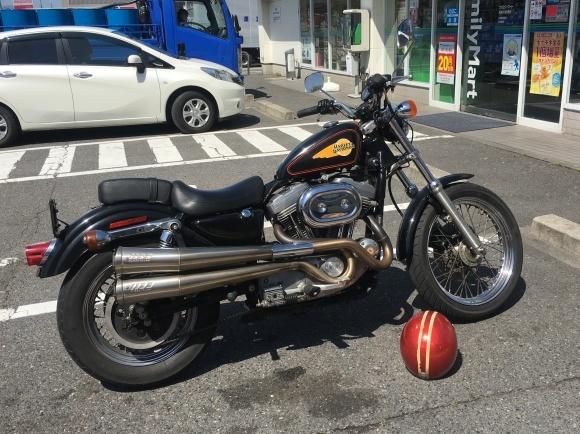 スポーツスターの車検_a0139843_22501630.jpg