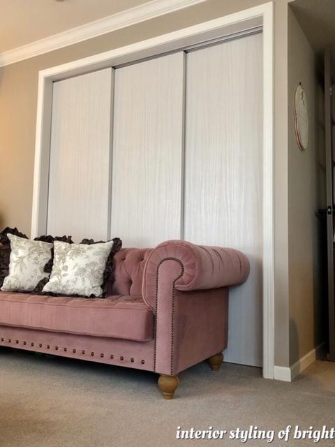 間仕切りと装飾を兼ねたカーテン モリス正規販売店のブライト_c0157866_17580828.jpg