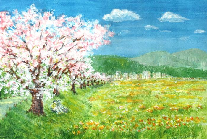 ご近所風景 それでも春は来てくれる。_a0037907_19382212.jpg