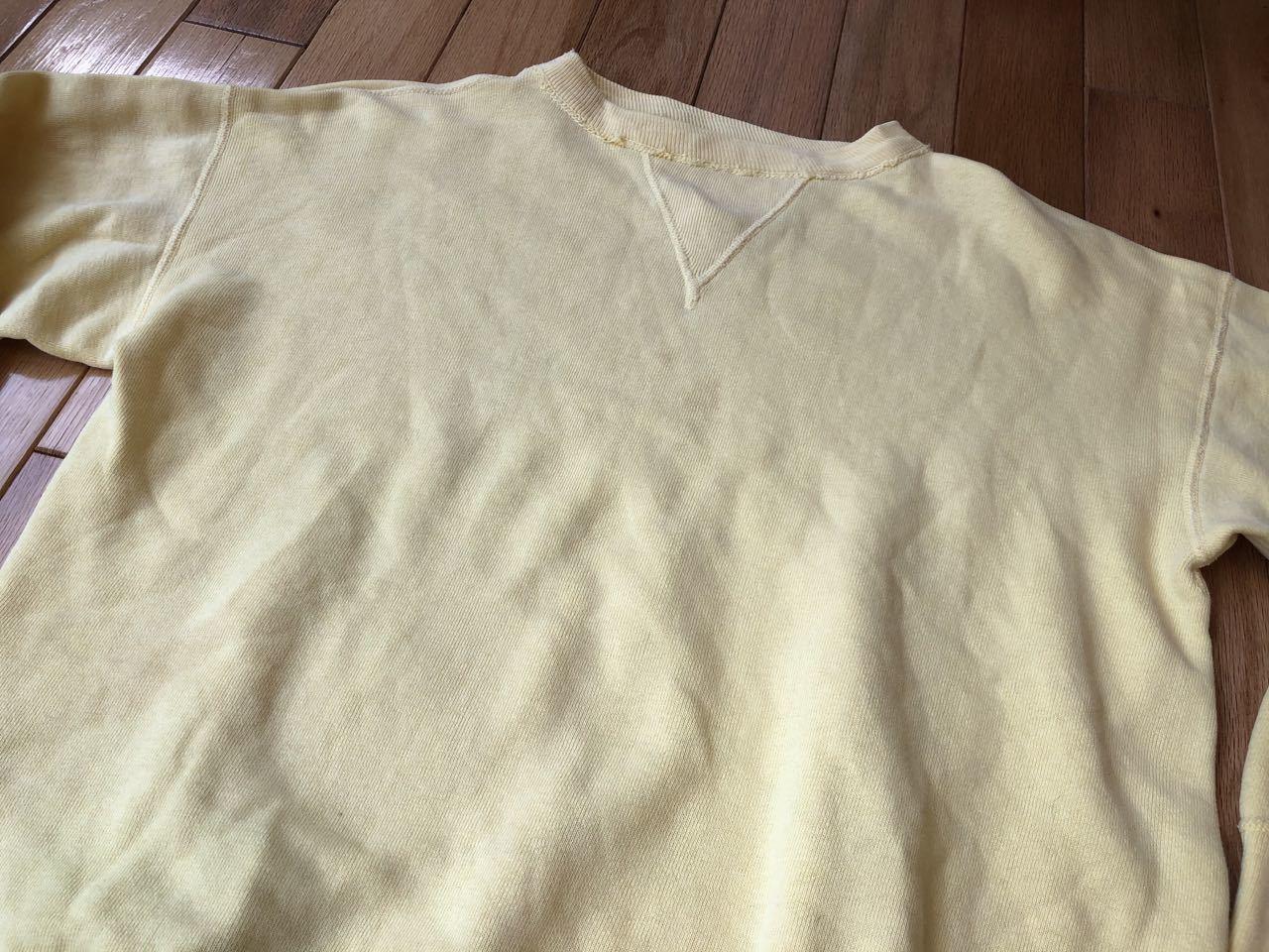50s〜all cotton SPRUCE FRONT V スエットシャツ! _c0144020_17401577.jpg