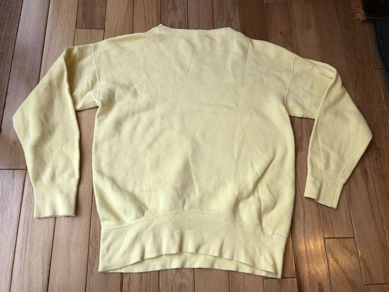50s〜all cotton SPRUCE FRONT V スエットシャツ! _c0144020_17401799.jpg