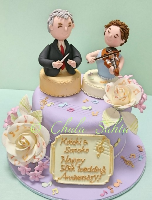 恩師へのお祝いケーキを作りました!_e0177649_12045333.jpg