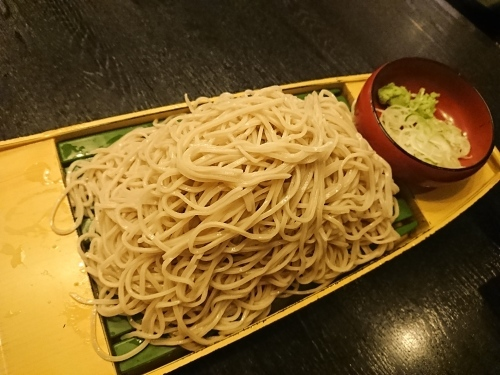 落語のあとは、お蕎麦が食べたくなって・・・寿毛平(すけへい)_c0100865_09085784.jpg
