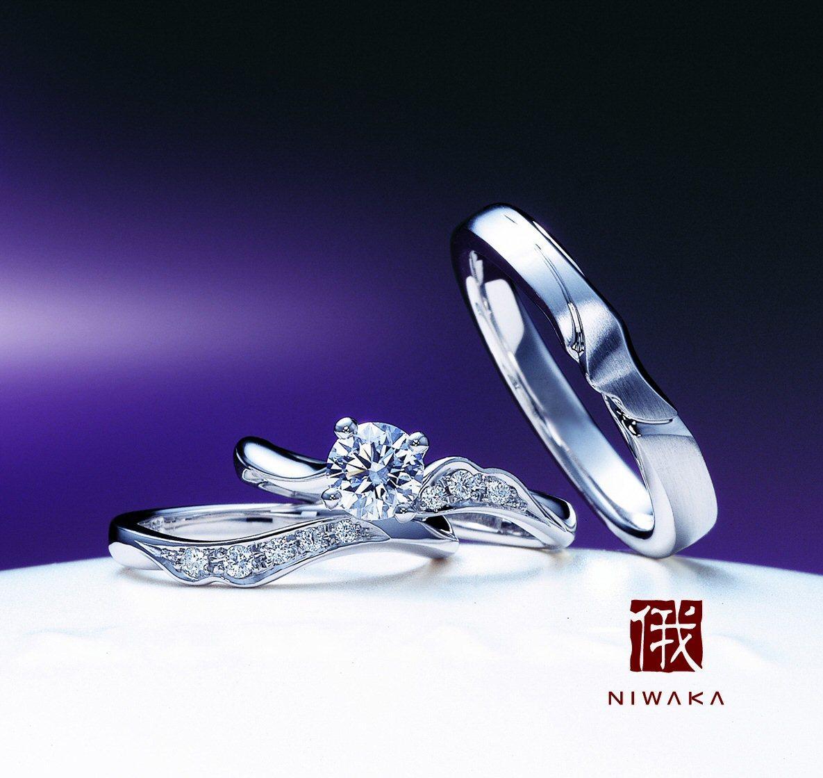 「唐花(からはな)」の物語~結婚指輪には忘れたくない大切なことが~俄の結婚指輪のエピソード_f0118568_17085516.jpg