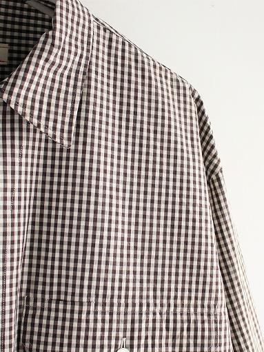 unfil washed cotton-gingham open collar work shirt_b0139281_16521224.jpg