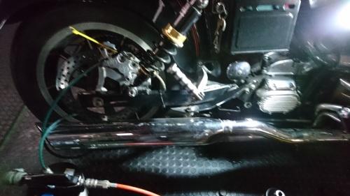 またまたダイナ プライマリー漏れ 修理_a0257316_07533545.jpg