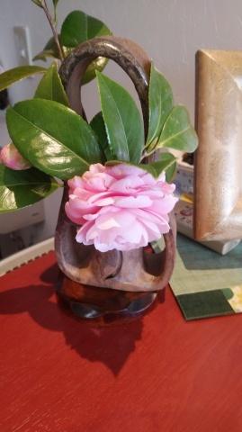 家の椿も咲き誇り、鈴なり。_d0144720_11283276.jpg