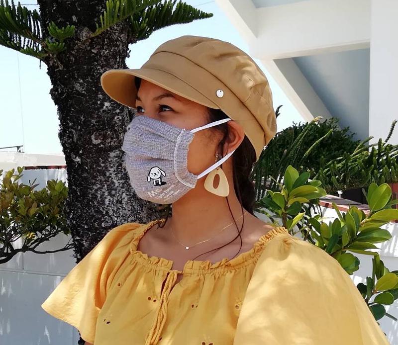 オリジナルタオルで、マスクを♪_d0181266_16090889.jpg