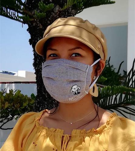 オリジナルタオルで、マスクを♪_d0181266_16091186.jpg