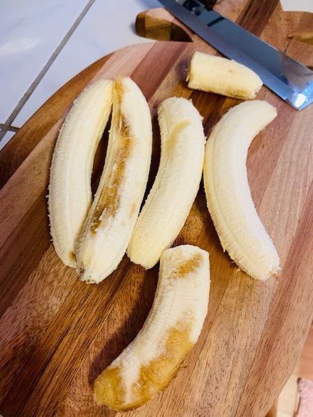 お家でバナナケーキ作り〜♬_c0187025_10474555.jpg