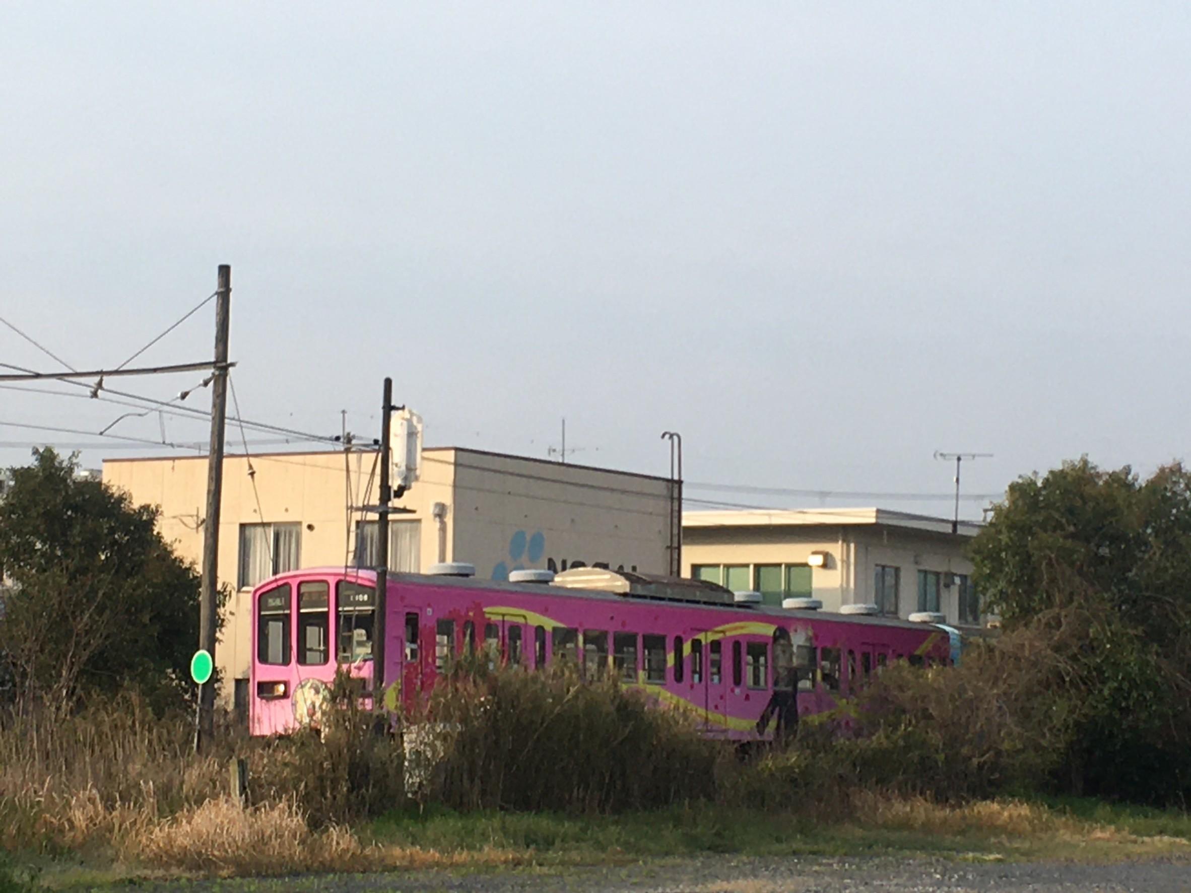 近江鉄道のキャラクター電車_b0100062_12271162.jpeg