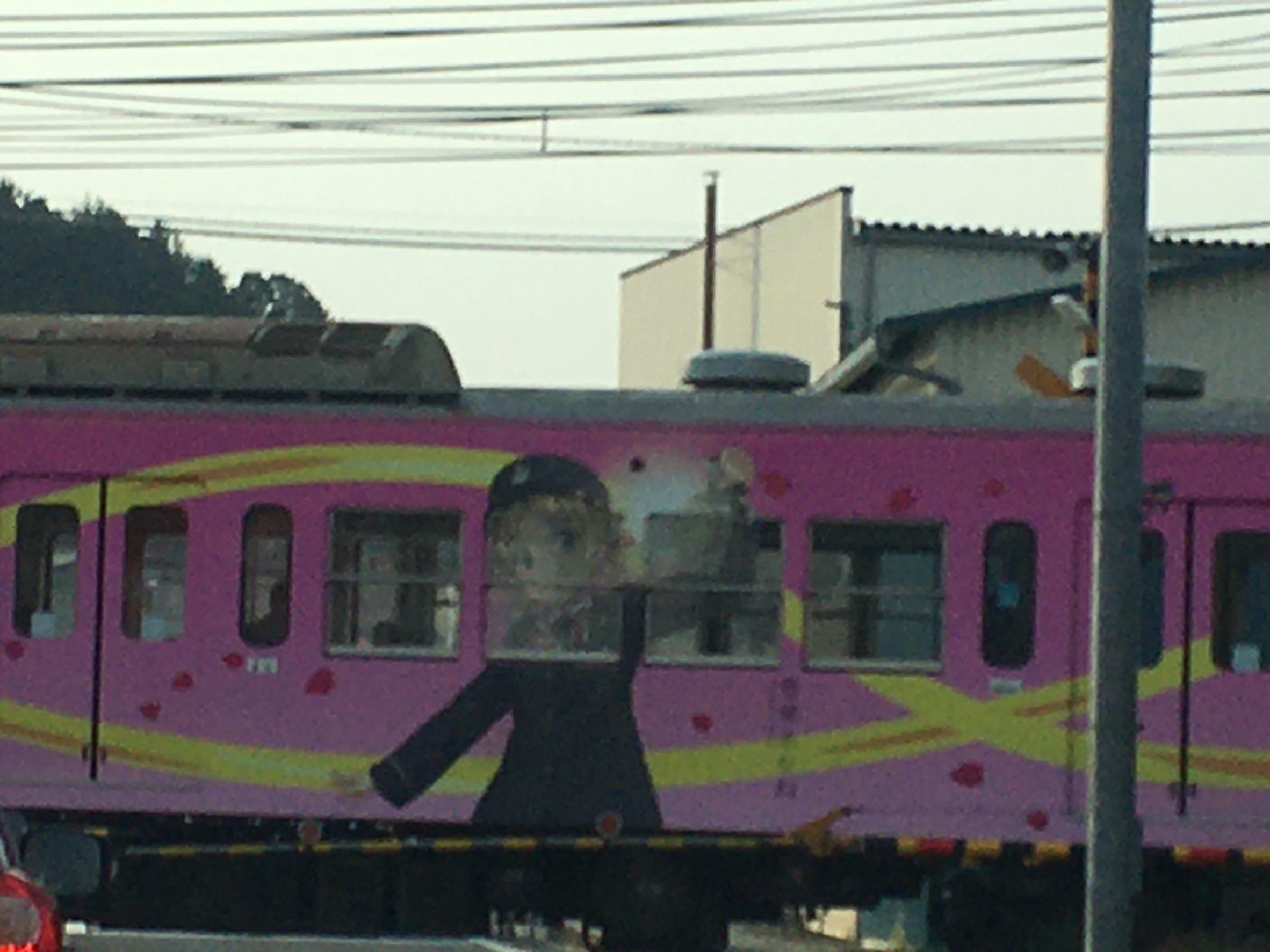 近江鉄道のキャラクター電車_b0100062_12272963.jpeg