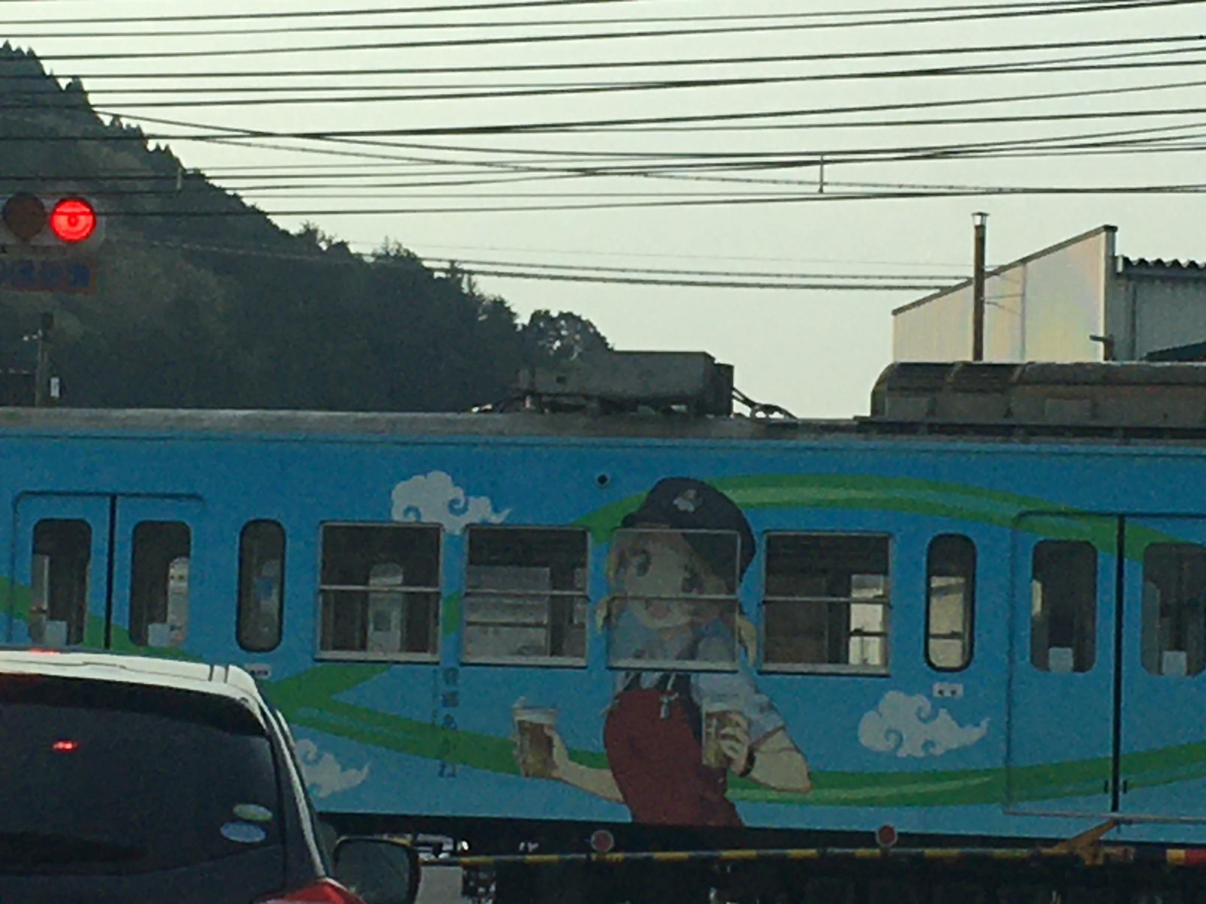 近江鉄道のキャラクター電車_b0100062_12312094.jpeg