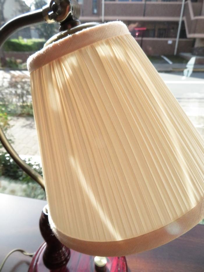 ランプシェード 製作 プリーツタイプ ウィリアムモリス正規販売店のブライト_c0157866_20124392.jpg
