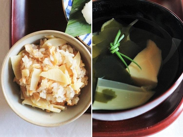 旬の筍(一汁一菜たけのこ lunch)_a0147281_20261772.jpg
