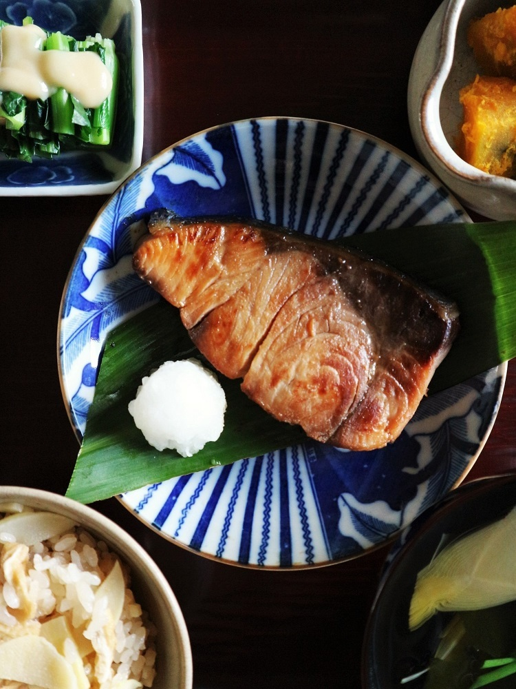 旬の筍(一汁一菜たけのこ lunch)_a0147281_20262148.jpg