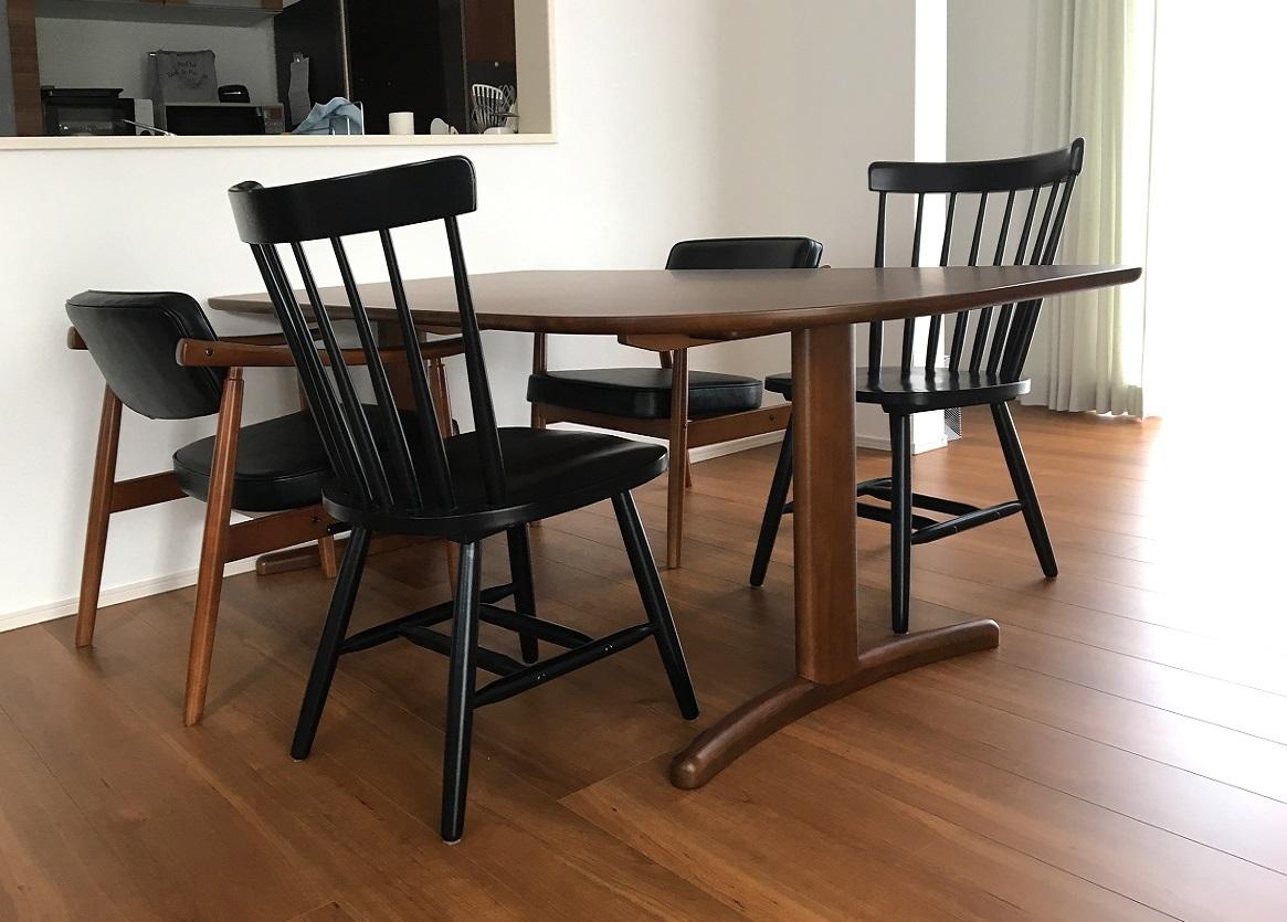 カリモク家具 納品実例 ~ オーダーテーブル DT88 ~_d0224984_18014773.jpg