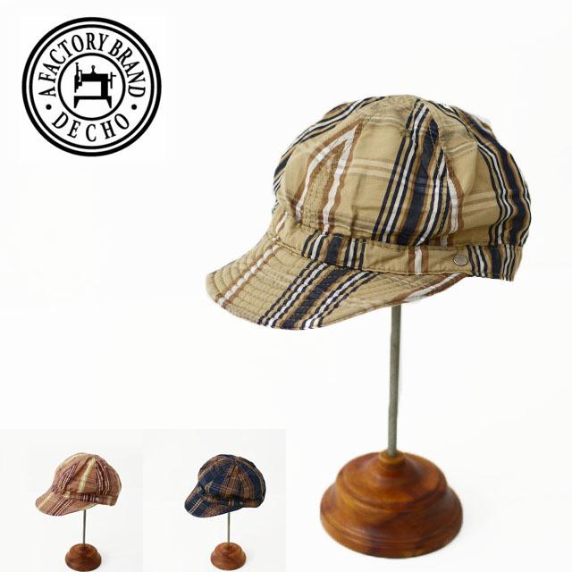 DECHO[デコー] SHALLOW KOME CAP [2-1SD20] シャローコメキャップ・チェックキャップ MEN\'S/LADY\'S_f0051306_14145060.jpg
