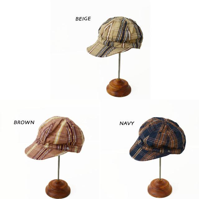 DECHO[デコー] SHALLOW KOME CAP [2-1SD20] シャローコメキャップ・チェックキャップ MEN\'S/LADY\'S_f0051306_14145104.jpg