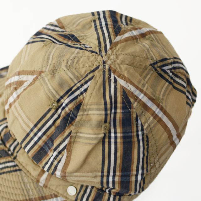 DECHO[デコー] SHALLOW KOME CAP [2-1SD20] シャローコメキャップ・チェックキャップ MEN\'S/LADY\'S_f0051306_14145107.jpg