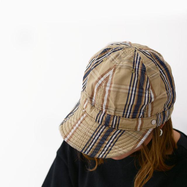 DECHO[デコー] SHALLOW KOME CAP [2-1SD20] シャローコメキャップ・チェックキャップ MEN\'S/LADY\'S_f0051306_14145140.jpg
