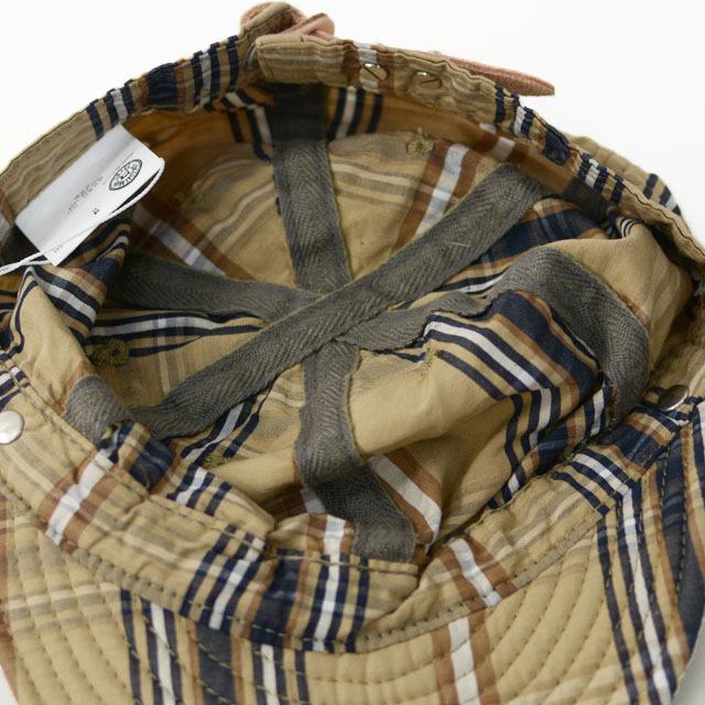 DECHO[デコー] SHALLOW KOME CAP [2-1SD20] シャローコメキャップ・チェックキャップ MEN\'S/LADY\'S_f0051306_14145187.jpg