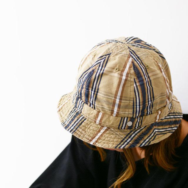 DECHO[デコー] SHALLOW KOME HAT [2-2SD20] シャローコメハット・チェックハット・ハイクハット・MEN\'S/LADY\'S _f0051306_14313042.jpg