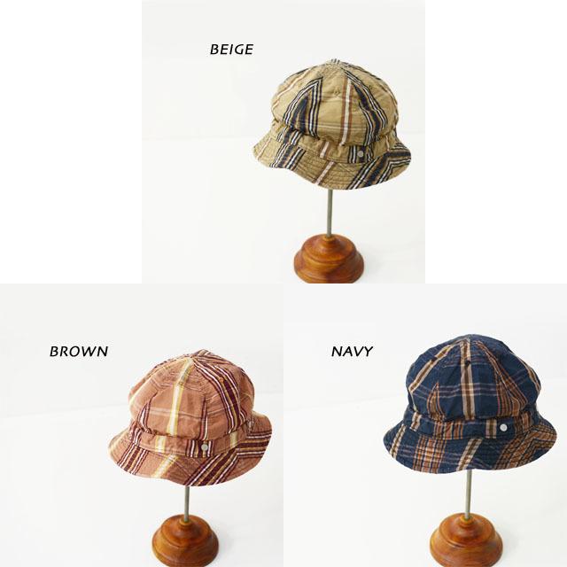 DECHO[デコー] SHALLOW KOME HAT [2-2SD20] シャローコメハット・チェックハット・ハイクハット・MEN\'S/LADY\'S _f0051306_14313095.jpg