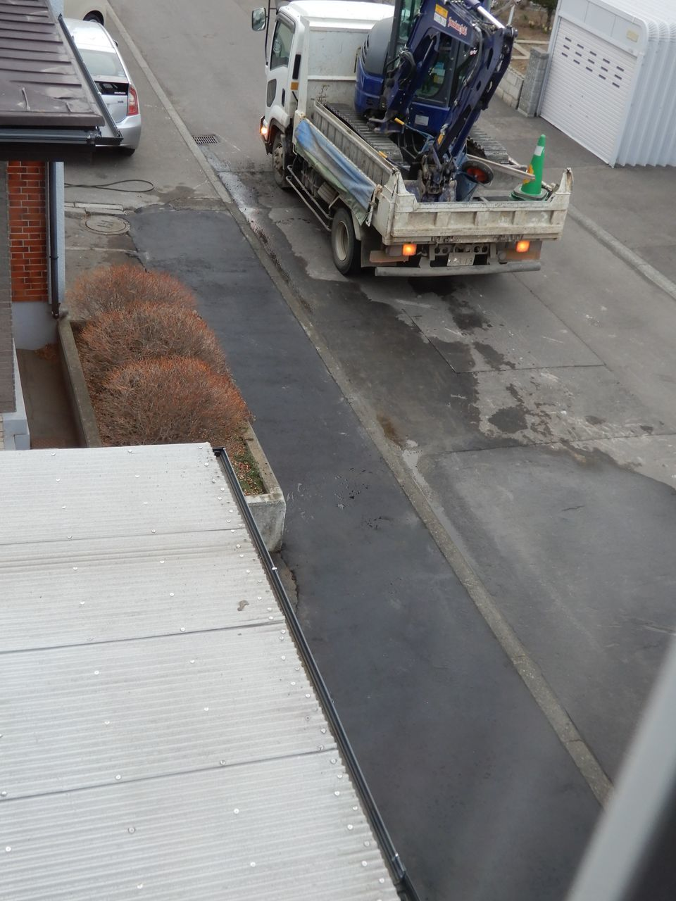 ロードヒーティングの撤去工事_c0025115_23254223.jpg