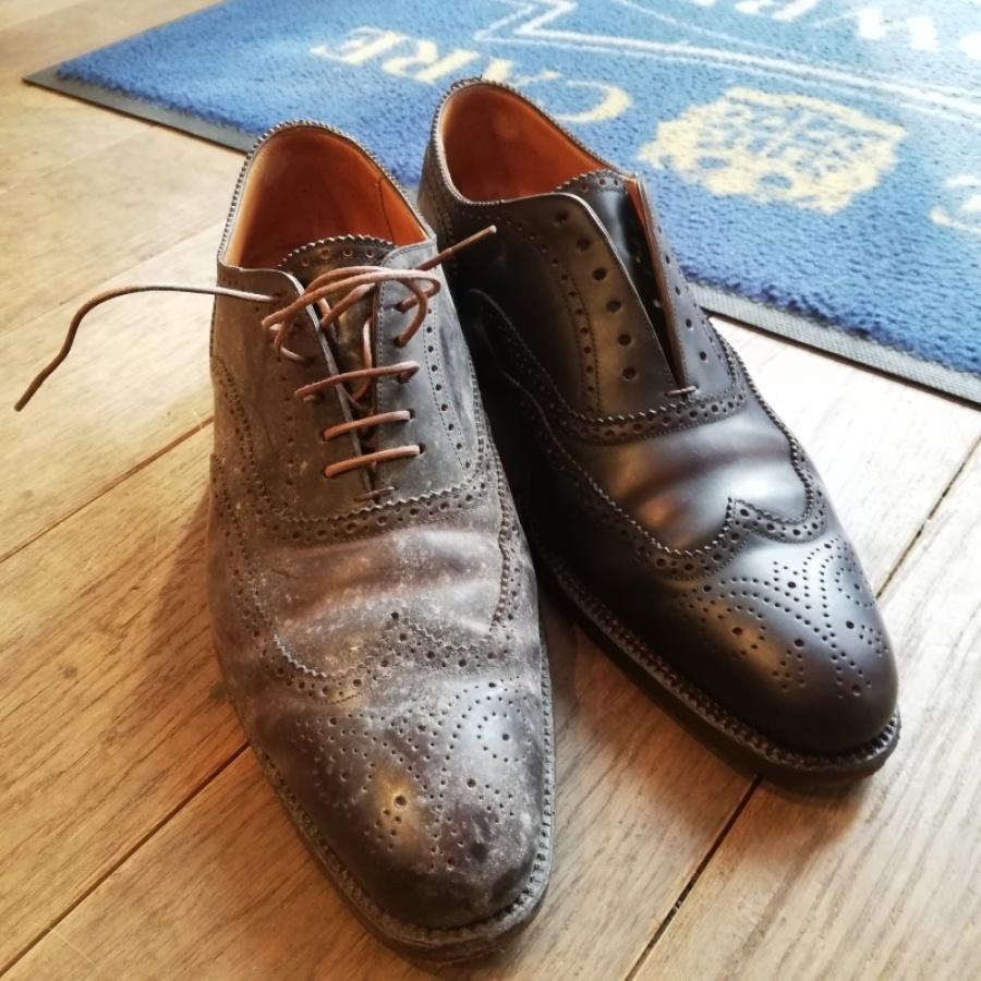 コードヴァンの靴 クリーニングと除菌・防菌_f0283816_14071332.jpg