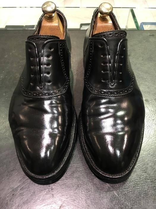 【おうちで靴磨き】気になるコードバンケア_b0226322_17560843.jpg
