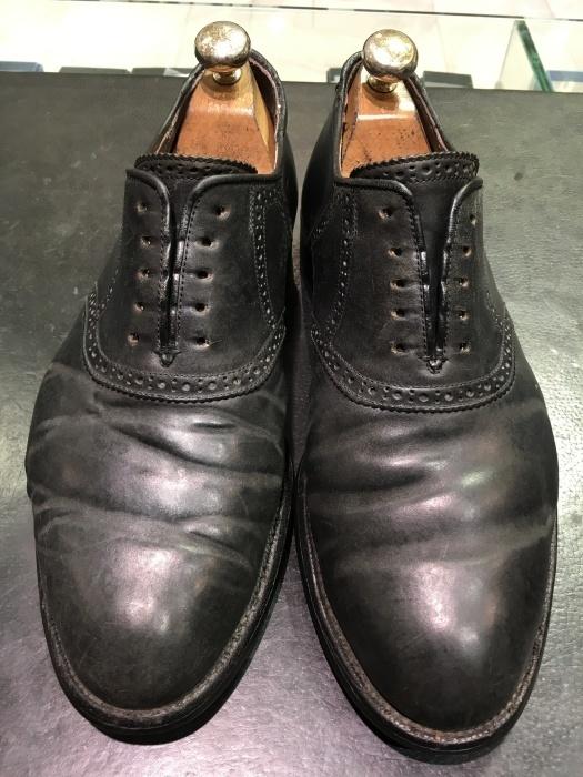 【おうちで靴磨き】気になるコードバンケア_b0226322_17561984.jpg