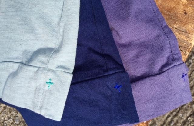 FabGarden 七分袖Tシャツ 『鎌倉の紫陽花とラピスラズリで染めました』_d0108933_18392248.jpg