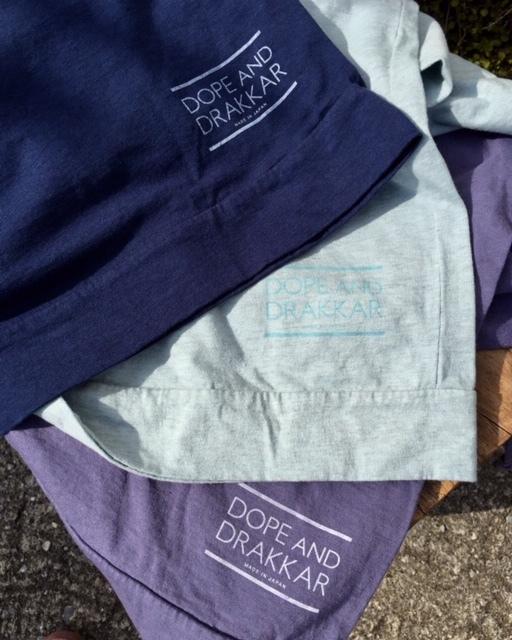 FabGarden 七分袖Tシャツ 『鎌倉の紫陽花とラピスラズリで染めました』_d0108933_18392486.jpg
